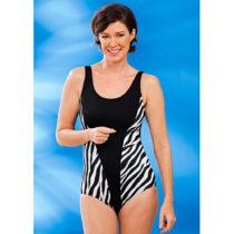 """Blancheporte Jednodielne plavky """"Zebra"""" 38/40"""
