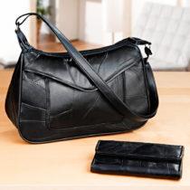 Blancheporte Patchworková taška, čierna čierna