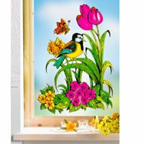 """Blancheporte Obrázok na okno """"Jarná lúka"""""""