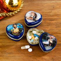 Blancheporte 3 srdcové škatuľky na lieky Hummel