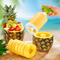 Blancheporte Krájač na ananás, zelená-biela zelená-biela