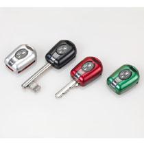 Blancheporte 4 LED svetlá ku kľúčom, čierna/strieborná/červená/zelená čierna/striebor/červená/zelená