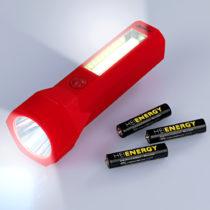 Blancheporte COB LED vreckové svietidlo 2v1