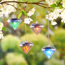 "Blancheporte 4 solárne lampáše ""Diamant"""