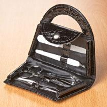 Blancheporte 6-dielna manikúra, čierna čierna