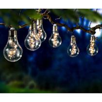 Blancheporte Solárna svetelná reťaz so 6 žiarovkami
