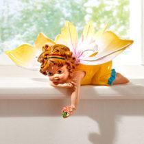 """Blancheporte Dekorácia """"Motýlia víla"""", žltá žľtá"""