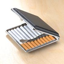 Blancheporte Puzdro na cigarety, čierna čierna