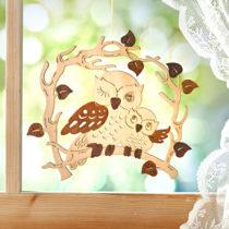"""Blancheporte Závesná dekorácia na okno """"Sovy"""""""