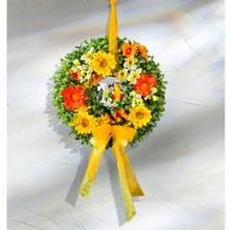 Blancheporte Kvetinový veniec s papagájmi