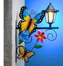 Blancheporte Solárne svietidlo s motýľmi