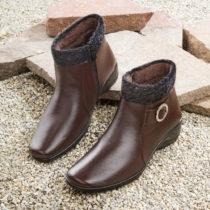 Blancheporte Členková obuv, hnedá hnedá 37