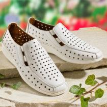 """Blancheporte Pohodlná obuv """"Anna"""", biela biela 37"""