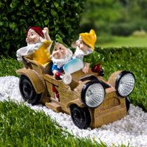 """Blancheporte Solárne dekorácie """"3 trpaslíci v aute"""""""