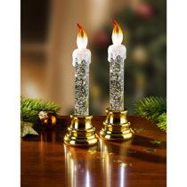 Blancheporte 1 LED sviečka zlatá