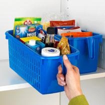 Blancheporte Úložný box s rukoväťou, modrá modrá