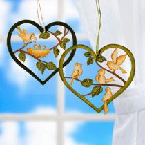 Blancheporte 2 dekoratívne srdcia