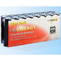Blancheporte 16 mikro batérií AAA, 1,5 V