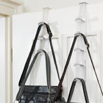 Blancheporte 3-dielny vešiak na kabelky, transparentná transparentná