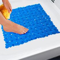 Blancheporte Podložka do sprchy, modrá modrá 51x51cm
