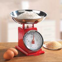 Blancheporte Kuchynská váha, červená červená