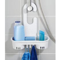Blancheporte Vešiak do sprchy, biela-sivá biela-sivá