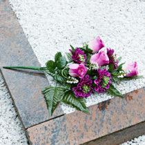 """Blancheporte Kytica na hrob """"Ruže a gerbery"""""""