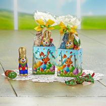 "Blancheporte 2 darčekové tašky ""Zajace"" + sladkosti"