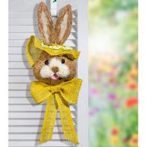 """Blancheporte Dekorácia na dvere """"Zajac"""", žltá žltá"""