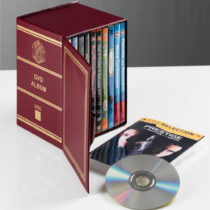 Blancheporte Archív box na 10 DVD, bordó bordó