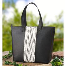 Blancheporte Nákupná taška s ozdobným dierkovaním