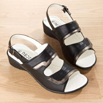 "Blancheporte Sandále ""Lima"", čierna čierna 36"