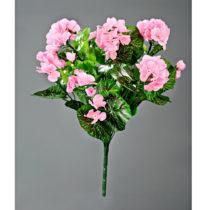 Blancheporte Kytica muškátov, výška 38 cm ružová ružová