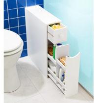 Blancheporte Kúpeľňová skrinka, biela biela
