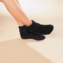 Blancheporte 1 pár termo ponožiek, čierna čierna