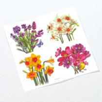 """Blancheporte Samolepiace motívy """"Kvety"""""""