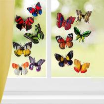 Blancheporte 12 motýľov 3D