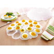 Blancheporte Podnos na vajcia s poklopom