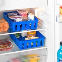 Blancheporte 2 koše do chladničky, modrá modrá