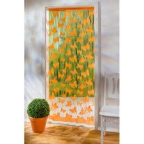 """Blancheporte Nitkový záves """"Motýle"""", oranžová oranžová"""