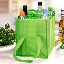 Blancheporte Taška na fľaše, zelená zelená