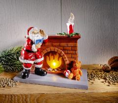 Blancheporte LED Santa pri kozube