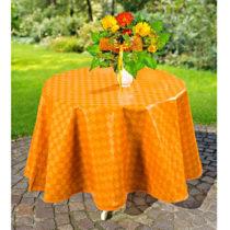 Blancheporte Voskovaný obrus károvaný, oranžová oranžová 110x140cm