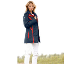 "Blancheporte Funkčná bunda ""Country"", modrá-červená, XXL modrá-červená S"