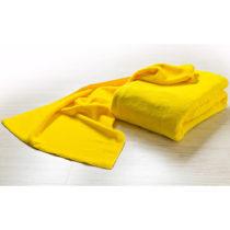 Blancheporte Osuška z mikrovlákna, fialová žltá 74x140cm