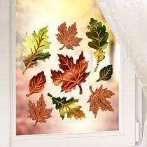 """Blancheporte Obrázky na okno """"Jesenné listy"""""""