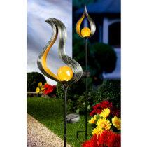 """Blancheporte Solárne svetlo """"Plamienok A"""" výška 21,5cm"""