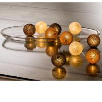 Blancheporte LED svetelná reťaz s guľami