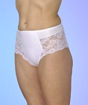 """Blancheporte Inkontinenčné nohavičky """"Čipka"""" bílá 36/38"""