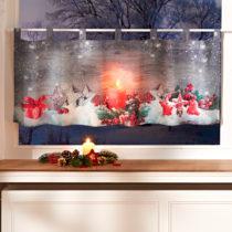 """Blancheporte LED záclona """"Zimné zátišie"""""""